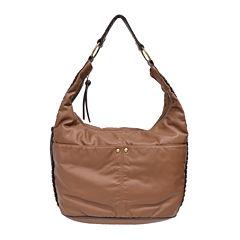 Bueno 2Tone Washed Hobo Bag