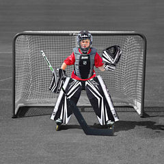 Franklin Sports NHL Comp 100 Goalie Set: Jr S/M