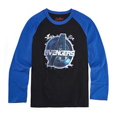 Avengers Graphic T-Shirt-Big Kid Boys