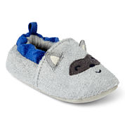 Carter's® Raccoon Zoomer Slippers - Boys newborn-12m