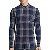 DC Shoes Co.® Long-Sleeve Highland Woven Button-Down Shirt