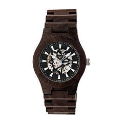 Earth Wood Gobi Unisex Brown Bracelet Watch-Ethew4302