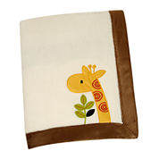NoJo® Zoobilee Fleece Blanket