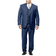 Stafford® Travel Medium Blue Suit Separates - Big & Tall