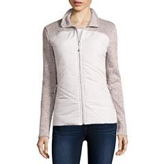 ZeroXposur® Long-Sleeve Hybrid Fleece Sweater