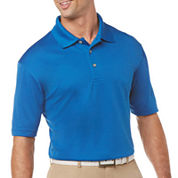 PGA TOUR® Solid Short-Sleeve Polo - Big & Tall