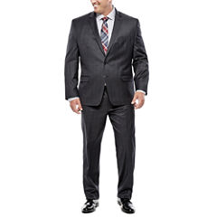 Collection by Michael Strahan Charcoal Windowpane Suit Separates - Big & Tall