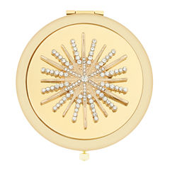 Monet® Multicolor Stone and Gold-Tone Starburst Compact