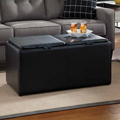 Signature Design by Ashley® Brindon Storage Ottoman