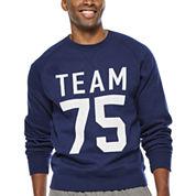 Xersion™ Graphic Fleece Crewneck Sweatshirt
