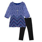 by&by girl Girls 2-pc. Legging Set-Big Kid