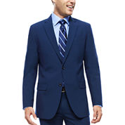 JF J. Ferrar® Blue Stretch Suit Jacket - Slim Fit