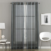 Milos Grommet-Top Sheer Curtain Panel