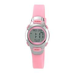 Armitron® Womens Pink Chronograph Digital Sport Watch 45/7012PNK