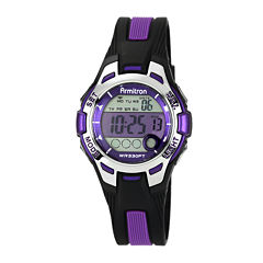 Armitron Womens Purple Strap Watch-45/7030pur