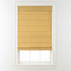 JCPenney Home™ Faux-Silk Roman Shade