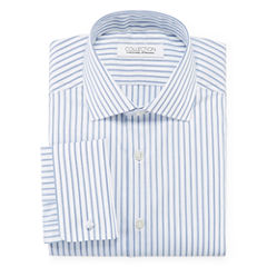 Collection by Michael Strahan Cotton Stretch French Cuff Dress Shirt - Big & Tall