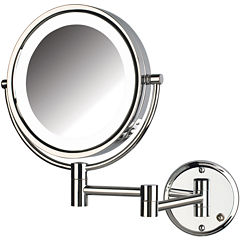 Jerdon Style Direct-Wire LED-Lighted Mirror