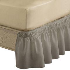EasyFit Wrap-Around Solid Ruffled Bedskirt