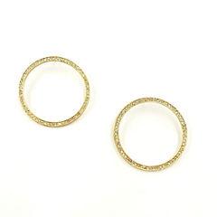 Bijoux Bar Hoop Earrings