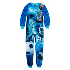 Cuttlebug Not Applicable Long Sleeve One Piece Pajama-Preschool Boys Average Figure