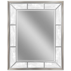 Head West 25.25 x 31.25 Alabaster Wall Mirror