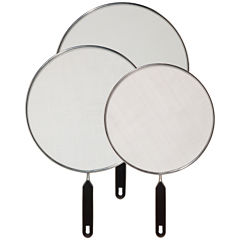 OGGI™ 3-pc. Stainless Steel Splash Guard Set