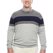 IZOD® Fieldhouse Crew Sweater