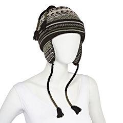Isotoner® Fairisle Peruvian Hat