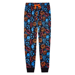 Arizona Husky Boys Sport Print Jogger Sleep Pant - Big Kid