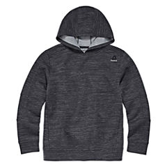 Reebok Long Sleeve Henley Shirt - Big Kid Boys