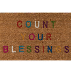 Novogratz By Momeni Aloha Hand Tufted Rectangular Doormat
