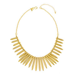 KJL by KENNETH JAY LANE Gold-Tone Spike Necklace