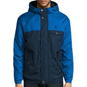 U.S. Polo Assn.® Colorblock Windbreaker Jacket with Hood