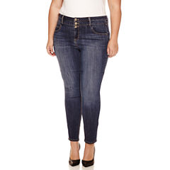 Blue Spice High-Rise Skinny Jeans - Juniors Plus