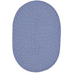 Better Trends Sunsplash Braided Oval Reversible Rugs