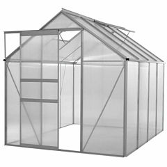 Ogrow Walk-In Lawn And Garden Greenhouse With Heavy Duty Aluminum Frame