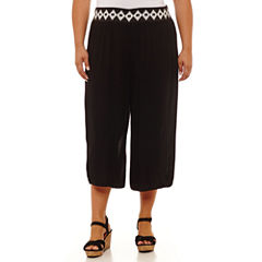 Plus Size Gauchos Capris & Crops for Women - JCPenney