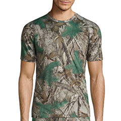 St. John's Bay® Poly Stretch Camo Crew Neck T-Shirt