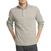 Van Heusen® Long Sleeve Sweater Fleece