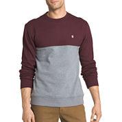 Izod® Advantage Colorblock Crewneck Fleece