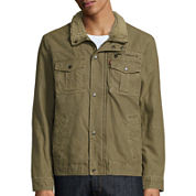 Levi's® Stand-Collar Trucker Jacket with Sherpa Lining