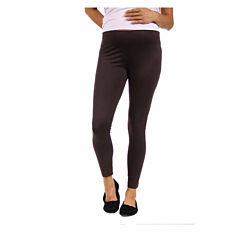 24/7 Comfort Apparel Solid Knit Leggings-Maternity
