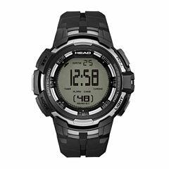 Head Super G Mens Black Strap Watch-He-104-03