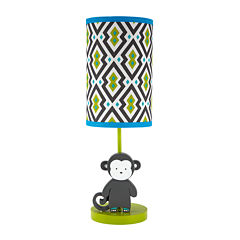 Safari Monkey Lamp and Shade