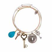 Sandra Magsamen Womens Cubic Zirconia Bangle Bracelet