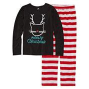 Total Girl Girls Pant Pajama Set-Big Kid & Plus