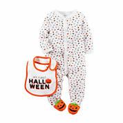 Carter's® Halloween 2-pc. Bodysuit and Bib Set - Babies newborn-9m