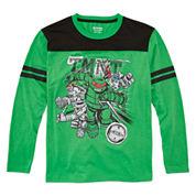 Nickelodeon Boys Long Sleeve T-Shirt-Big Kid