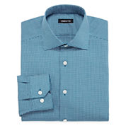 Claiborne® Wrinkle-Free Dobby Dress Shirt
